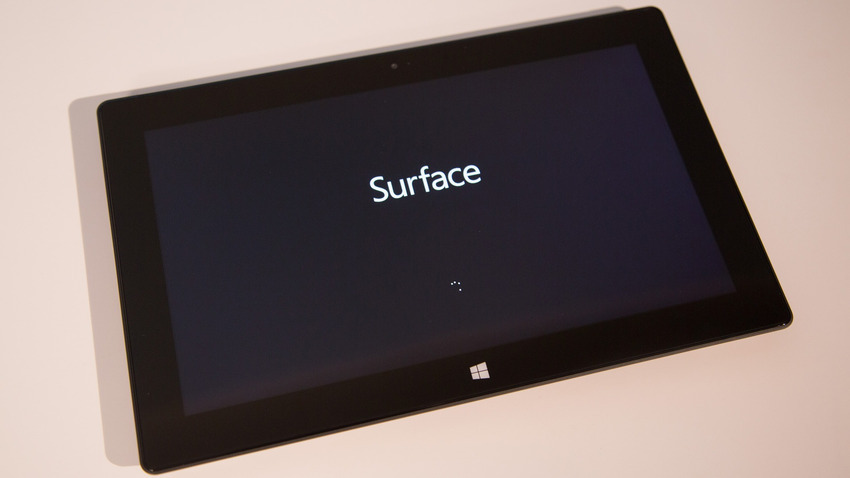 Surface Pro stuck on Surface Screen and Won't TurnOn