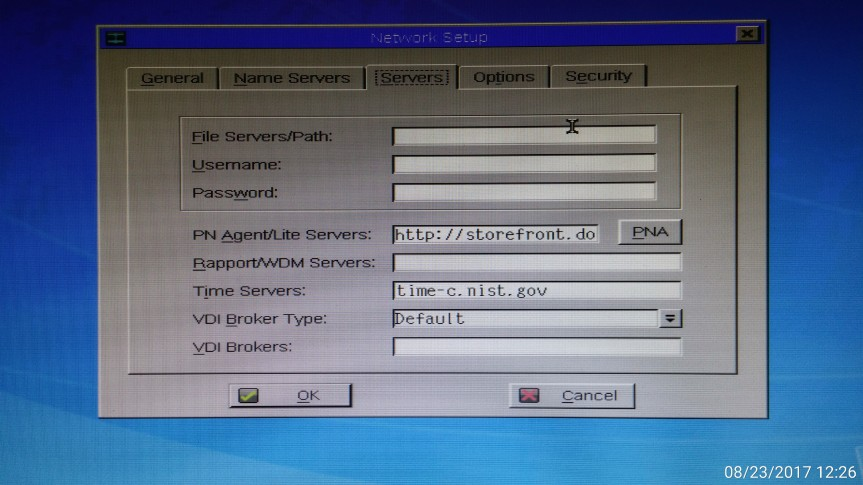 XenApp 7.6 Legacy ICA Support Wyse VX0 /V10L
